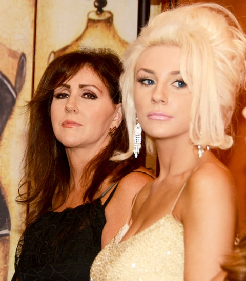 Krista Keller and Courtney Stodden