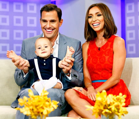 Bill Rancic, Giuliana Rancic and Duke