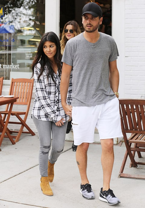Kourtney and Scott Hamptons
