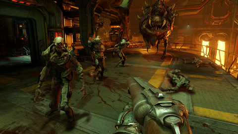Id Software's resurrected 'Doom' is a masterclass in pure, kinetic game design