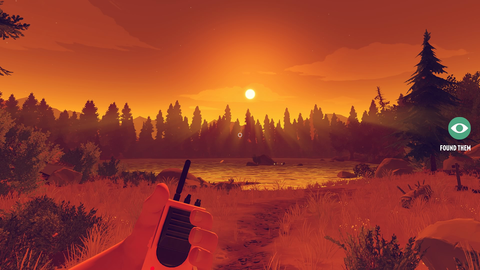 'Firewatch', from indie studio Campo Santo, had you exploring a relationship as well as a national park