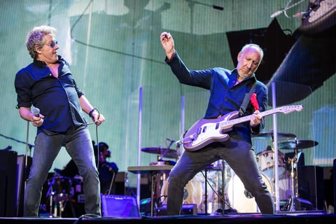 Oct. 16, 2016, Indio, California, USA - PETE TOWNSHEND of The Who performs live at Desert Trip Festival.
