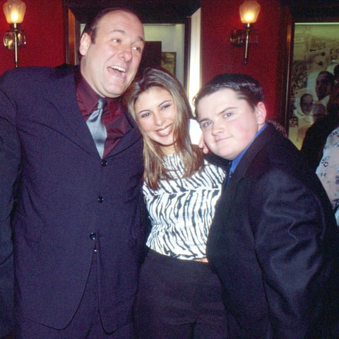 James Gandolfini, Jamie-Lynn Sigler and Robert Iler