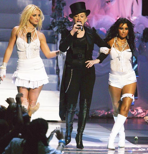 are britney spears and christina aguilera recording a duet