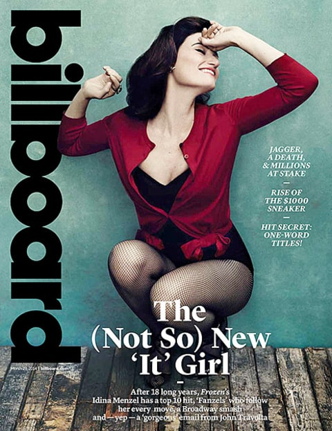 Idina Menzel on Billboard