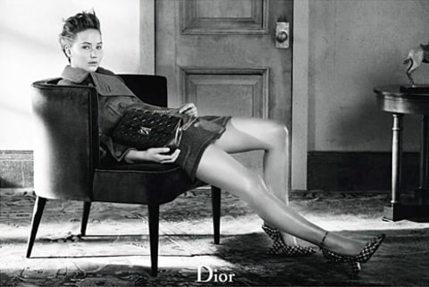 jennifer lawrence dior sitting