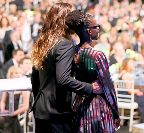 Jared and Lupita (arm)