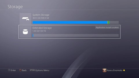 The least sexy but most exciting screenshot you'll ever see about a hard drive update