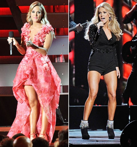 carrie underwood cma outfits