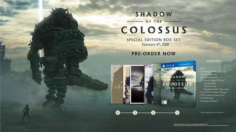 Sony Announces Shadow of the Colossus Special Edition For PS4