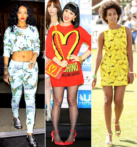 Rihanna, Katy Perry and Solange