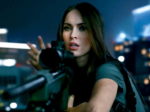Megan Fox Call of Duty Trailer
