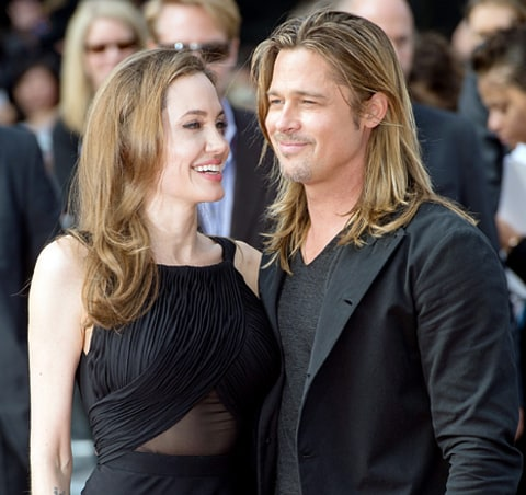 brad and angelina leading up to wedding
