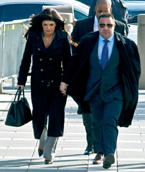 Teresa Giudice and Joe Giudice Court