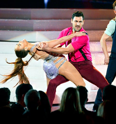 Jennifer Lopez and Maksim Chmerkovskiy