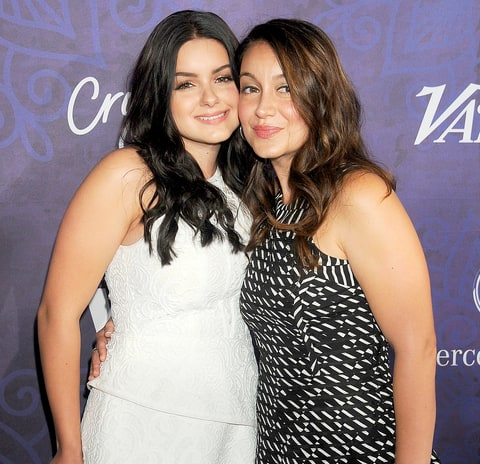 Ariel Winter and Shanelle