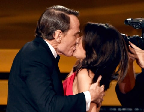 Julia Louis-Dreyfus and Bryan Cranston