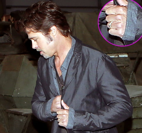 Brad Pitt Wedding Ring