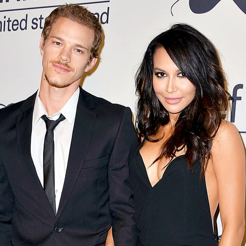 Ryan Dorsey and Naya Rivera