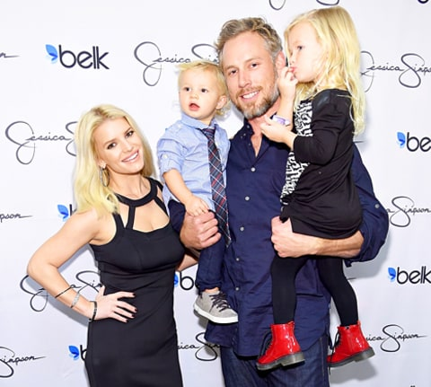 Jessica Simpson, Ace, Eric Johnson and Maxwell