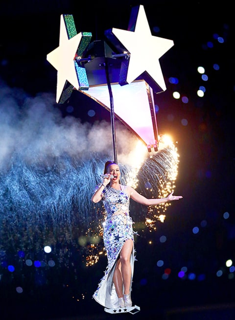 Katy Perry w/Star Super Bowl