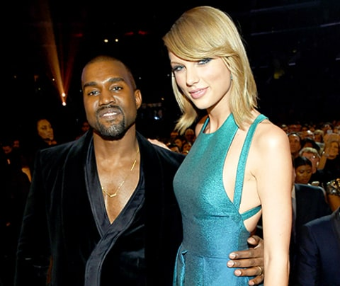 Kanye West and Taylor Swift Grammy Awards