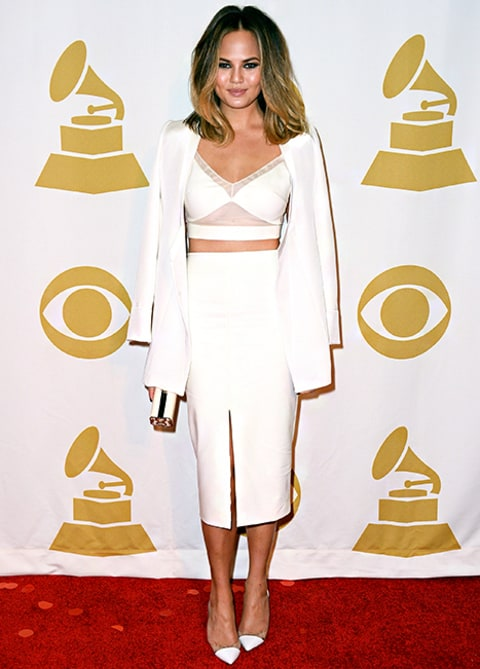 Chrissy Teigen Winter White