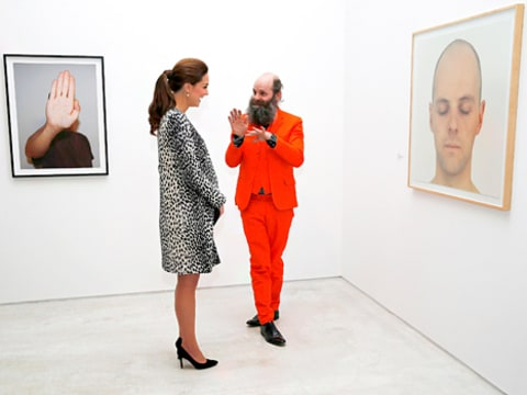 Kate Middleton and Artist