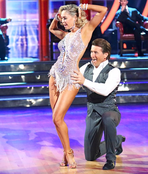 Kym Johnson and Robert Herjavec on Dancing with the Stars
