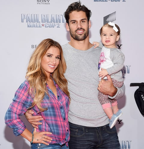 Jessie James Decker, Eric Decker and Vivianne