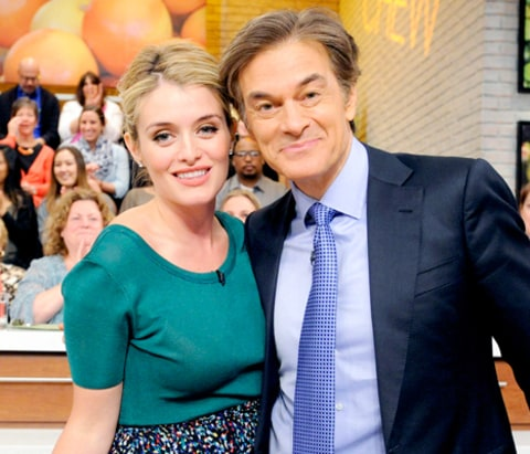 Daphne Oz and Dr. Oz