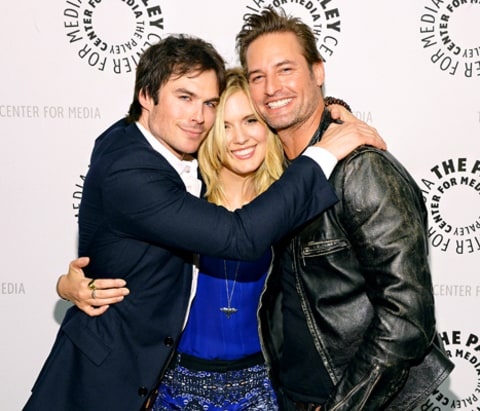 Ian Somerhalder, Maggie Grace and Josh Holloway