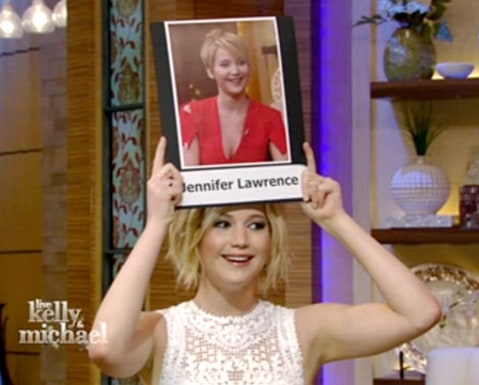 Jennifer Lawrence - Live with Kelly and Michael