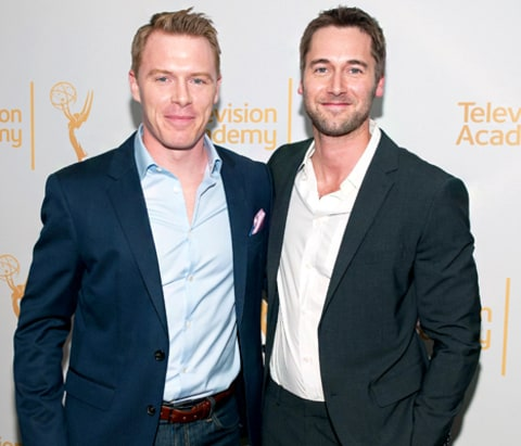 Diego Klattenhoff and Ryan Eggold