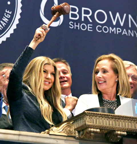 Fergie New York Stock Exchange