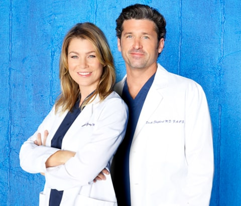 """Ellen Pompeo on McDreamy's Death: """"There Has to Be Big ... Ellen Pompeo And Patrick Dempsey"""