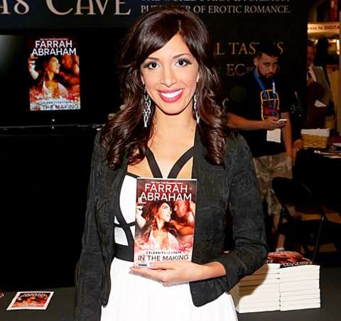 Farrah Abraham and her book