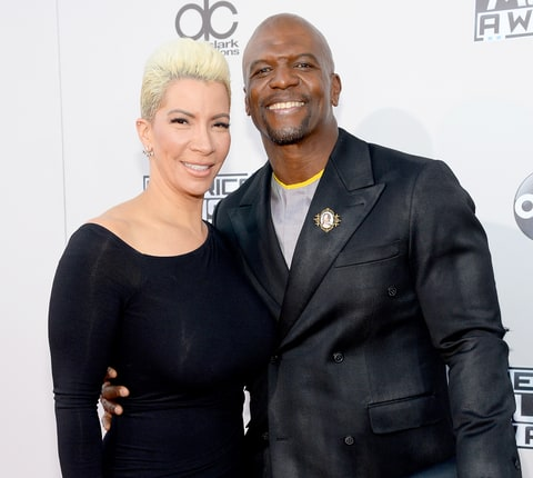 Terry Crews and Rebecca