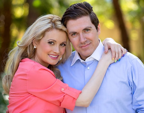 Holly Madison and husband