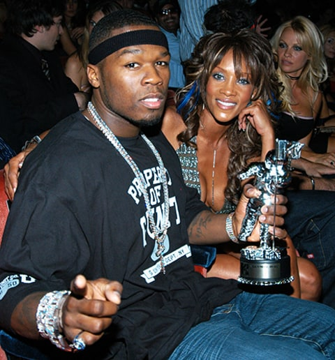 50 Cent and Vivica A. Fox 2003