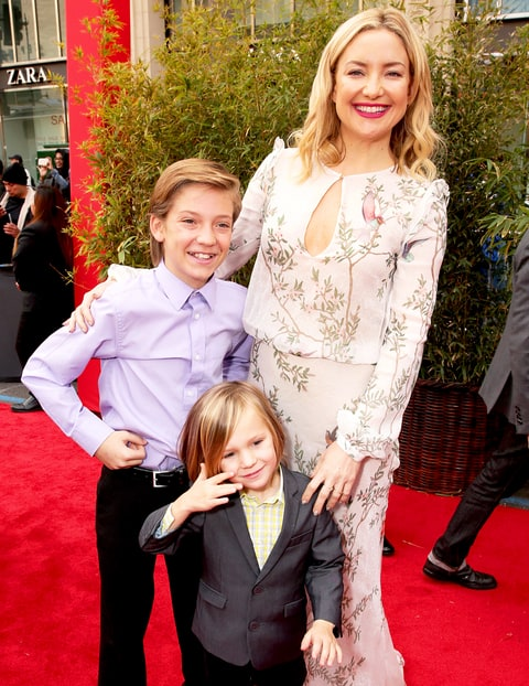 Kate Hudson, Ryder and Bingham