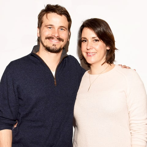 Jason Ritter and Melanie Lynskey