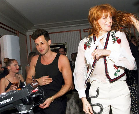 Mark Ronson and Florence Welch