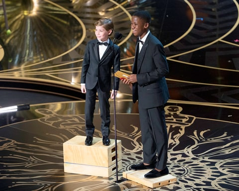 Jacob Tremblay and Abraham Attah