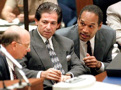 O.J. Simpson and Robert Kardashian