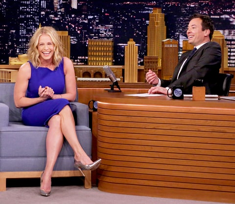Chelsea Handler and Jimmy Fallon