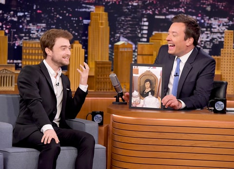 Daniel Radcliffe and Jimmy Fallon