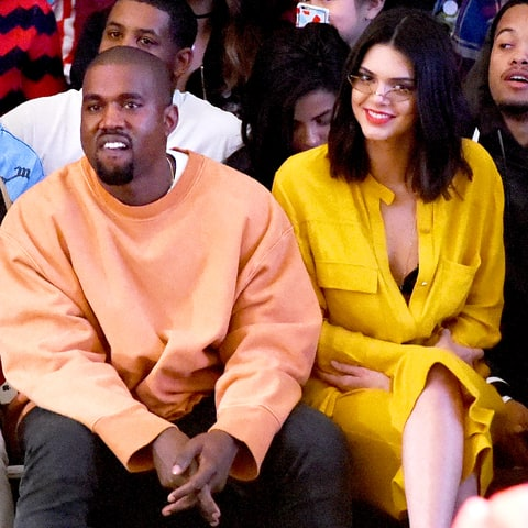Kanye West and Kendall Jenner