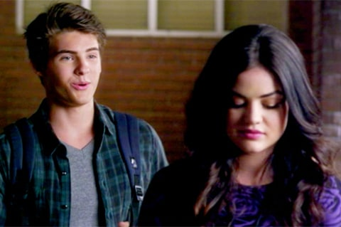 Pretty Little Liars Lucy Hale and Cody Christian