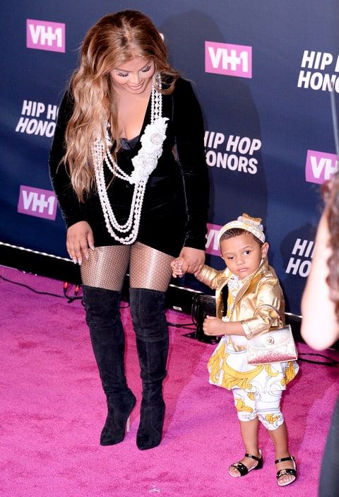 Lil Kim and Royal Reign